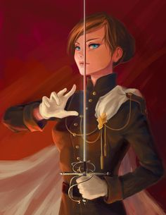 Lady commander *~* Practicing digital painting with photoshop.