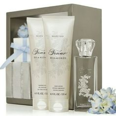 *NEW* Forever Diamonds 3 Piece Set This amazing set includes;  *NEW* Forever Diamonds perfume,  The *NEW-Limited Edition* Forever Diamonds Body Wash, And the *NEW-Limited Edition* Forever Diamond Body Lotion! Mary Kay Makeup