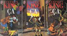 Stephen King's IT French Covers