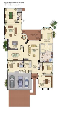 CHARLESTON GRANDE/752 Floor Plan