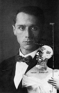 "parisianblackitten: ""Max Ernst. Self-portrait, 1919 """