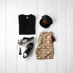 Men's Casual Summer Fashion #mensfashion #menstyle #sneakers
