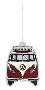 Lufterfrischer mit VW Bus T1 Frontmotiv (Vanille/Rot) #Geschenkidee #Merchandise #Volkswagen #vanlife