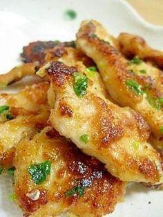 「味噌こんがり☆鶏ムネ肉のねぎ味噌焼き」家にあるもので、ささっと作れます。味噌が香ばしく焼けて食欲をそそります♪【楽天レシピ】