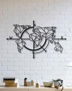 World Map Metal Table – Carte du monde – Face Mask Map Monde Deco, Map Wall Decor, Room Decor, Cuadros Diy, Iron Art, Unique Home Decor, Metal Walls, Metal Wall Art, Wall Design