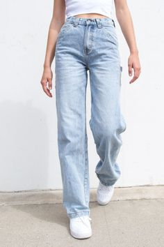 Feanne Light Wash Jeans - View All - Clothing Jean Vintage, Vintage Jeans, Traje Casual, Best Jeans For Women, Look Jean, Best Casual Outfits, Casual Attire, Mom Jeans Outfit, Light Jeans Outfit