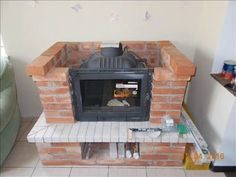 Камин с чугунной топкой своими руками - YouTube Wood Burner Fireplace, Build A Fireplace, Cottage Fireplace, Fake Fireplace, Fireplace Design, Bedroom False Ceiling Design, Bungalow House Plans, Home Technology, House Inside