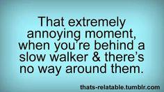 Annoying!