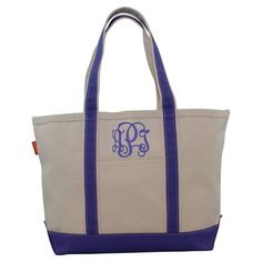 CB Station Medium Boat Tote Violet, Women's - 6120-NTM-2905
