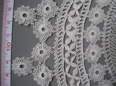 Armenian needle lace detail