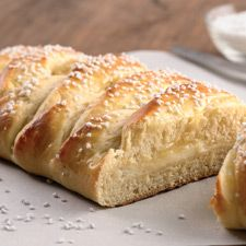 Braided lemon bread- for easter brunch- from my favorite bakers at King Arthur Flour