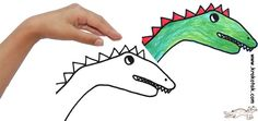 all sorts of fun things you can create from tracing your hands