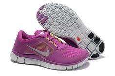 Nike Free Run 3 Magenta Reflective Silver Pro Platinum Violet