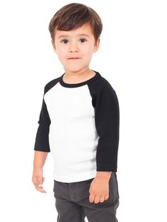4153 American Apparel Toddler Raglan | Cotton Heritage Wholesale, Blank Cotton Heritage, Bulk Cotton Heritage, Cotton Heritage t-shirts, Enzyme Washed