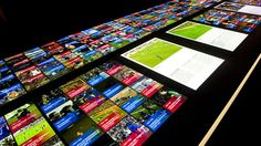 FC Barcelona touch screen
