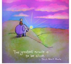 O maior milagre é estar vivo
