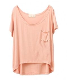 Loose Modal T-shirts with Short Sleeves
