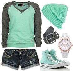 Tomboy summer outfit