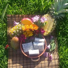 Overview of this Soapy Goodness: Handmade Small Batch Organic, Natural Locally Sourced and Fair Trade Certified Ingredients Cold Processed This Tropical Blend soap brings you back to the beach with its sweet fresh scent. Lather up with Pineapple, Coconut and chunks of Mango Butter for deep moisturization with a sprinkle of poppy seeds offers a light exfoliation. This soap is great for exfoliation and moisturization with a sweet tropical scent.  *No artificial fragrances *No artificial colors…