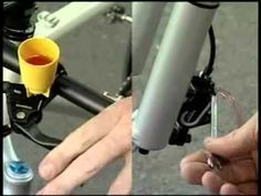 Finally found a video instructions how to bleed Shimano hydraulic disc brakes.