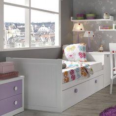 Cama nido para dormitorio infantil