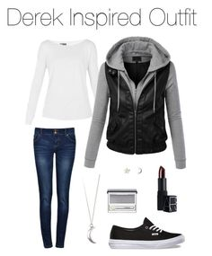 Teen Wolf - Derek Inspired Outfit by stardustonthepiano on Polyvore featuring Lija, Upper Metal Class, Clinique and NARS Cosmetics