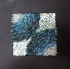 Margo Anton's Mosaic a Day: Near Miss - SOLD
