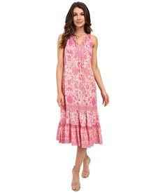 Rebecca Taylor Sleeveless Dreamweaver Maxi Dress