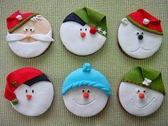 Bolachas de Natal: Bolachas de Canela e Erva Doce