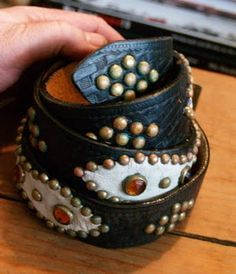 Studded Belts ~ Warpath Leather Goods