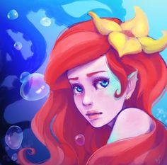 Ariel by kelcyXjoy on deviantART