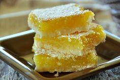 GET OFF YOUR BUTT AND BAKE!: LEMON BARS - Shortbread goodness!