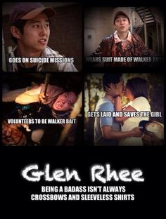#Thewalkingdead #glennrhee