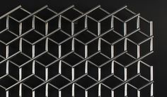 Hexscreen explores the geometry of the hexagon and constructs its simple pattern using repeated identical rods of stainless steel. Inspired ...