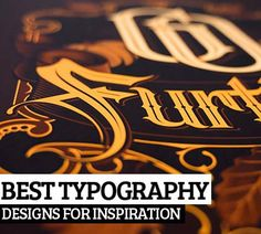 25 Best Typography Designs Created by Professional Designers