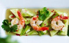 Thaimarinerede agurker