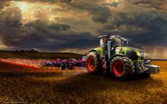 ... .comDownload wallpaper tractor, Klaas, Other machinery and equipment
