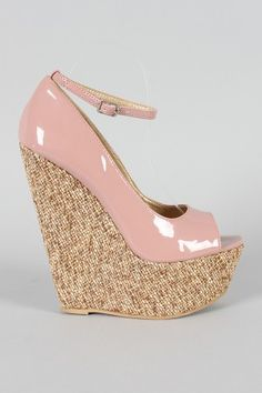 Promise Christina Ankle Strap Open Toe Wedge