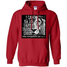 I CAN DO ALL THINGS - Pullover Hoodie 8 oz