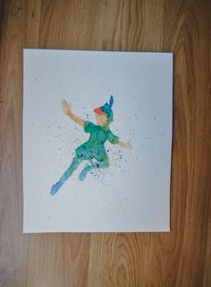 A personal favorite from my Etsy shop https://www.etsy.com/listing/231758395/peter-pan-watercolor