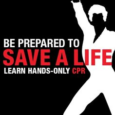 Learn hands only CPR... Imaginary line across nipples. Place palm of hand center of chest just under line. Think Song Staying alive and pump hands to the beat until Emergency Medical arrives.