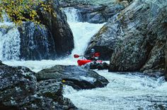 Whitewater Kayaking in Franklin, NC