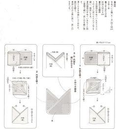 Afbeeldingsresultaat voor tsuno bukuro bag pattern