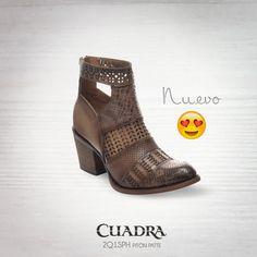 Lo nuevo de CUADRA. #moda#boots#fashion#style#streetstyle#bota#2017#readytowear#piel#exoticleather#leather