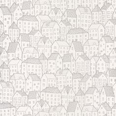 Maison Silver wallpaper by Caselio