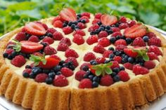 Desserts,Very Berry Fruit Tart Cheesecake Recipes, Pie Recipes, Dessert Recipes, Cooking Recipes, Recipes Dinner, Lunch Recipes, Breakfast Recipes, Sugar Free Pie Recipe, Sugar Free Recipes