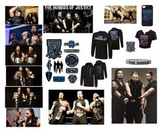 """""""THE SHIELD HOUNDS OF JUSTICE"""" by blackveilbridesbvbsixx ❤ liked on Polyvore featuring WWE"""