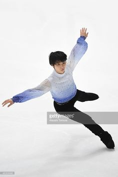 Yuzuru Hanyu of Japan competes in the Men's Short Program during the 83rd All Japan Figure Skating Championships at Big Hat on December 26, 2014 in Nagano, Japan.