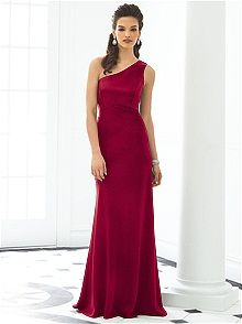 After Six Bridesmaid Style 6643x    #red #bridesmaid #dress