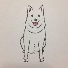 """""""despojo: nanaokb: ワンちゃんの消しゴムはんこ(^^) """""""